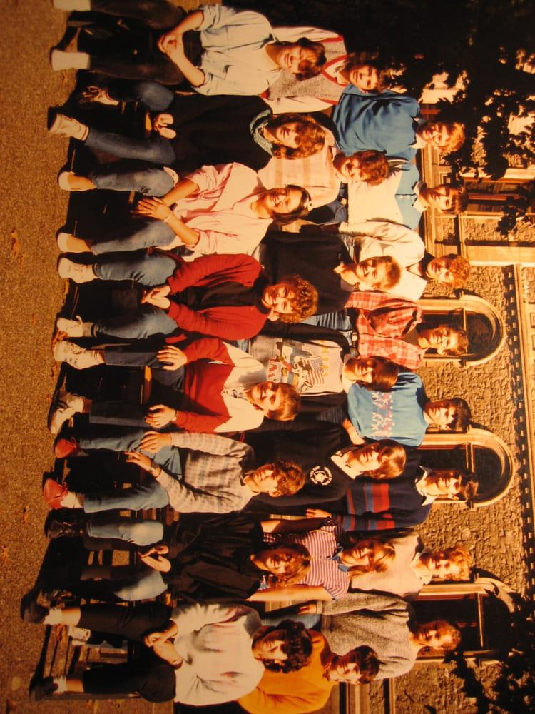 photo de classe 1984 1985 3eme g de 1984 coll 232 ge de la salle copains d avant