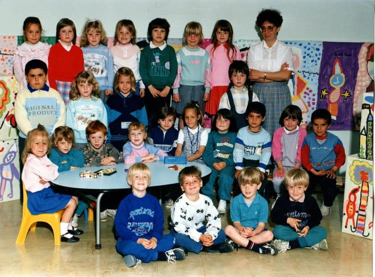 Photo de classe maternelle de 1988 ecole george sand - Art cuisine longuenesse ...