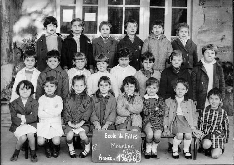 Photo de classe cp 1967 1968 monclar avignon de 1967 - Ecole de decoration avignon ...
