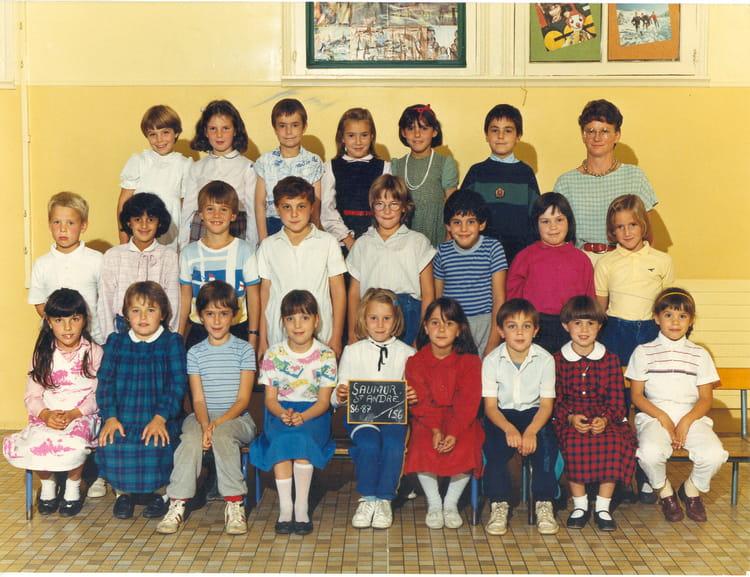 Photo De Classe Ce1 De 1986 Ecole Institut Saint Andre Copains D Avant